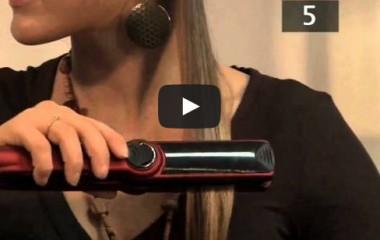 איך להשתמש במחליק שיער