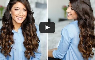 איך לעשות תלתלים בשיער